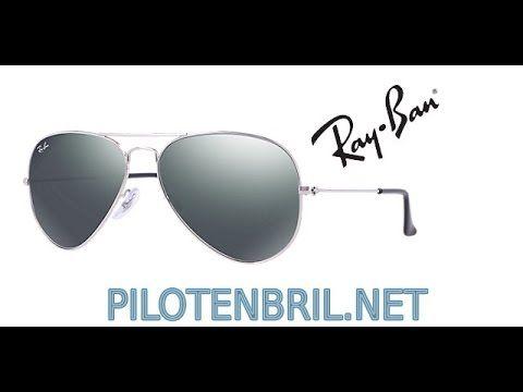 blauwe pilotenbril ray ban
