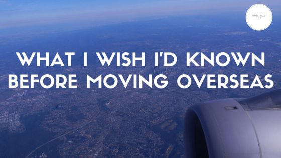 It's been over 5 years since I moved overseas. While moving abroad has been great, I have a few regrets. Check out my thoughts on moving away from home so you can avoid making the same moving mistakes!