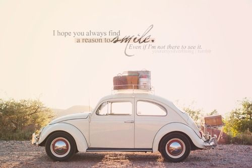 i dont know if i like the car or the qoute better! hehe