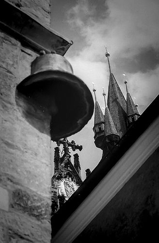 STONE BELL Old Town square Prague