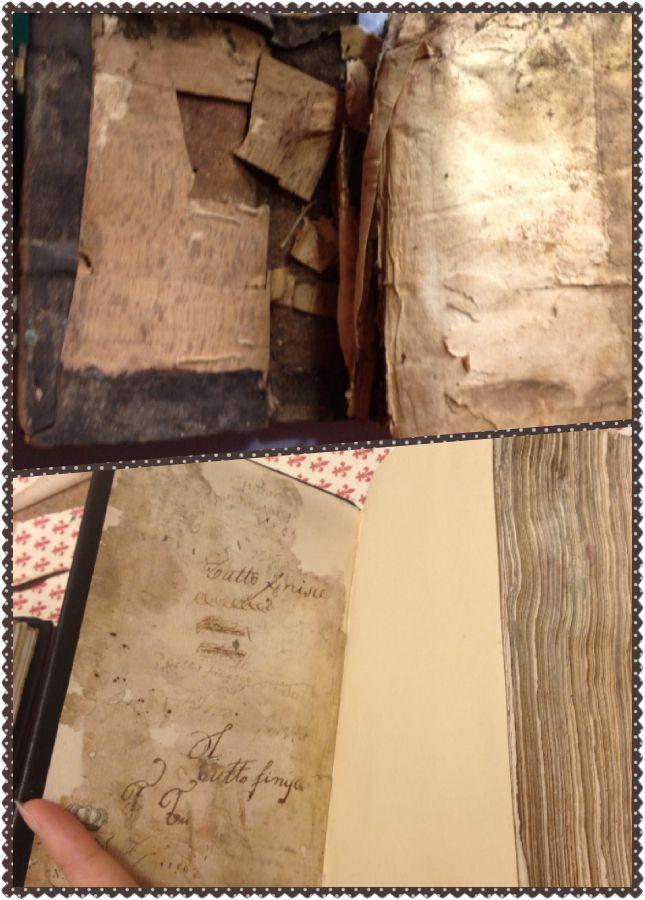 Prima e dopo il restauro-velArt