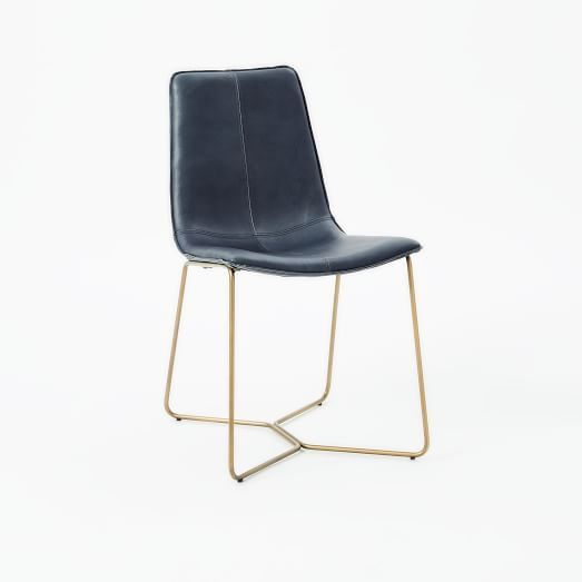 Slope Leather Dining Chair Dining Tables Pinterest Leather