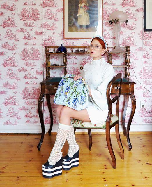 The wardrobe of Ms. B: I love pearls