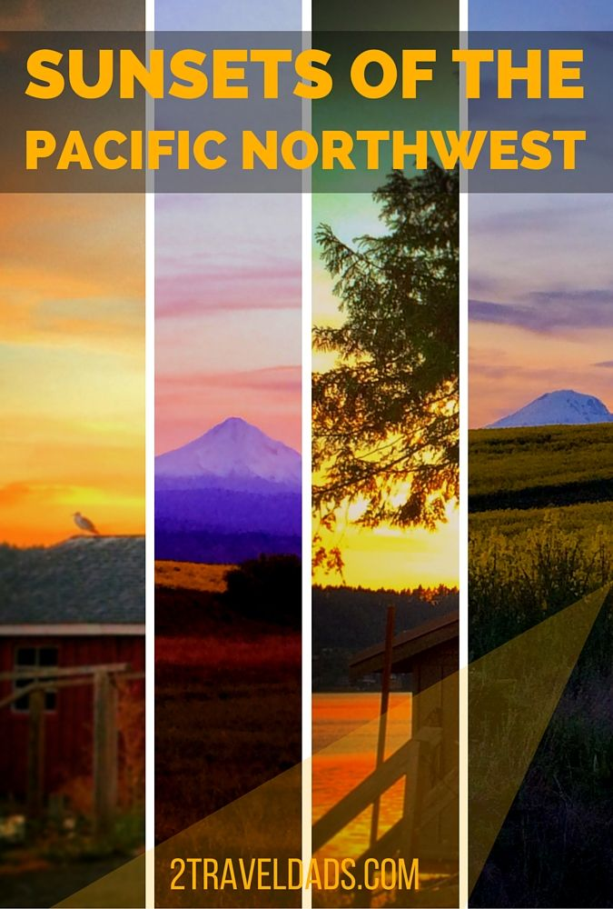 The Pacific Northwest of the USA has some incredible sunset.  Check out some of the best places to say goodnight. 2traveldads.com