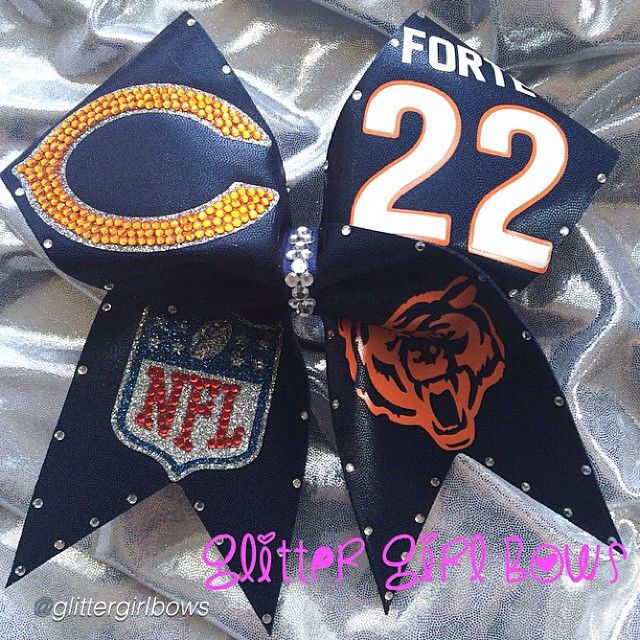 "Cheer bow of the day. by @glittergirlbows ""Da Bears!"" Tag #cheerbowoftheday to be featured. #cheerbow #cheerbows #beautiful #cheer #cheerleading #cheerleader #cheerleaders #chicago #glitter #sports #cheerislife #bows #hairbow #hairbows #bling #hairaccessories #bigbows #bigbow #bears #fabricbows #hairclips #sparkle #nfl #style #football #dance#ribbon #instacute#instacheer"