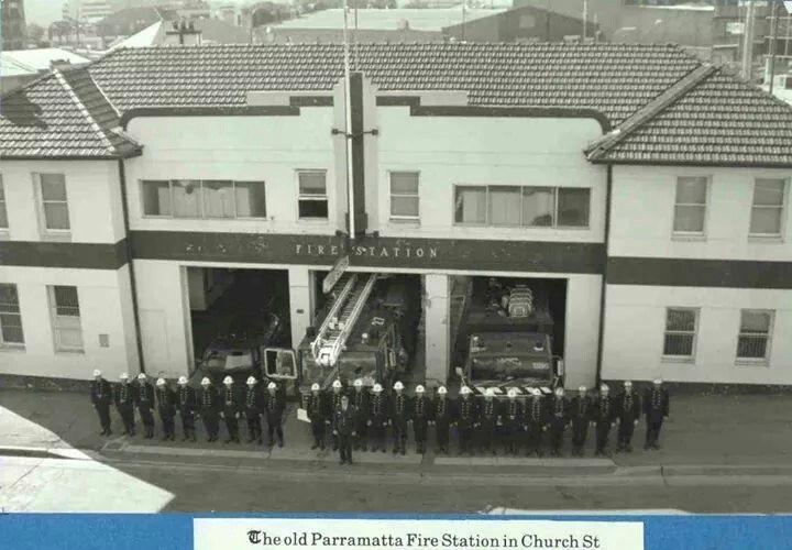 The original Parramatta Fire Station,Church St,Parramatta.Built in 1938.A♥W
