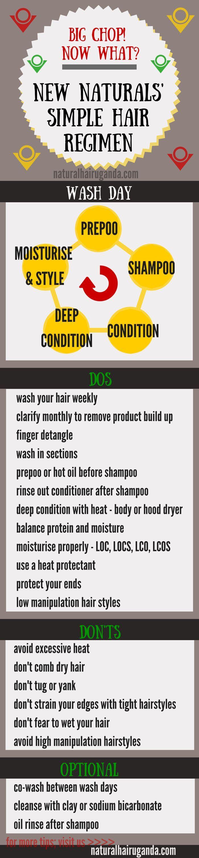 Simple natural hair regimen ☪ Pinterest: /RaelinaTerry/