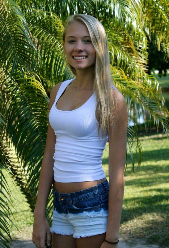 Have thought blonde teen girls jean shorts