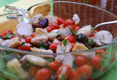 Hearts of Palm & Tomato Salad | Recipes | Pinterest