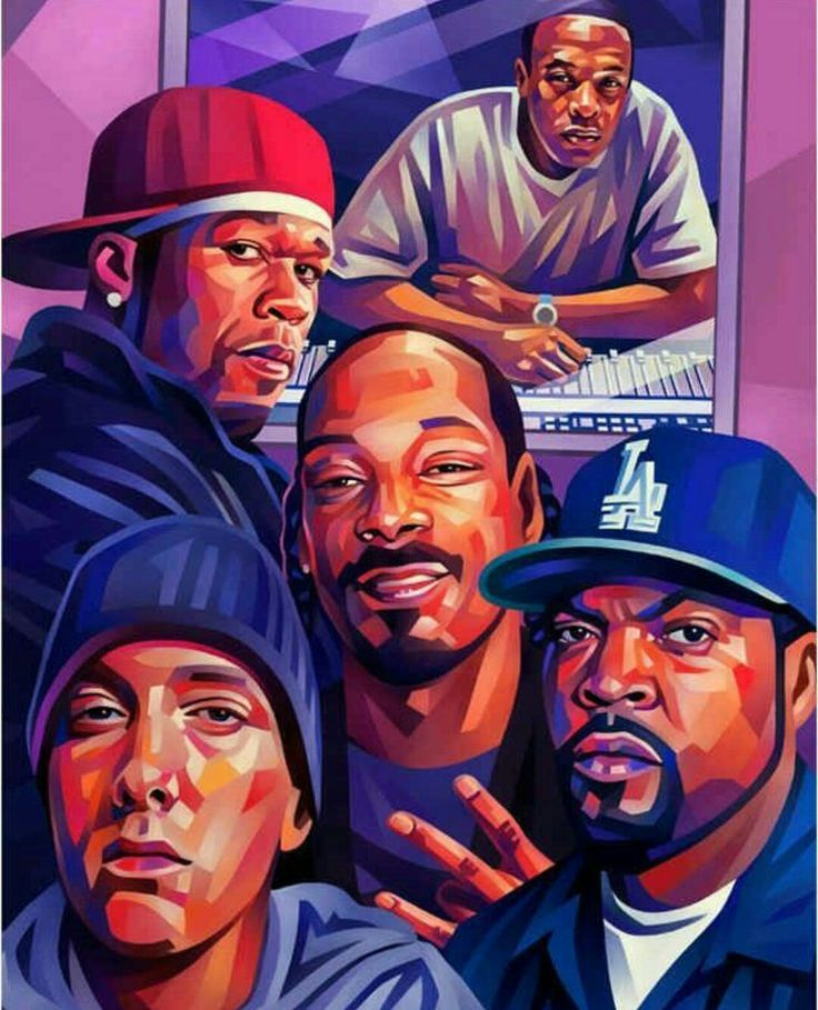 Dr Dre. 50 Cent. Snoop Dogg. Eminem. Ice Cube. Dope.