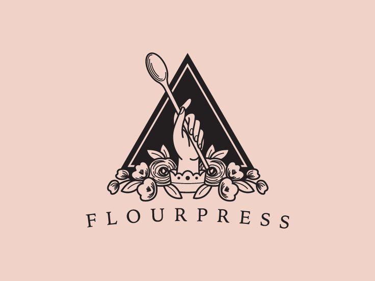 Flourpress logo by Chris Ladwig #Design Popular #Dribbble #shots
