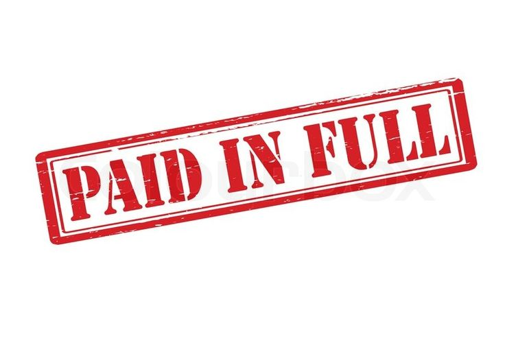 paid in full stamp - Google Search