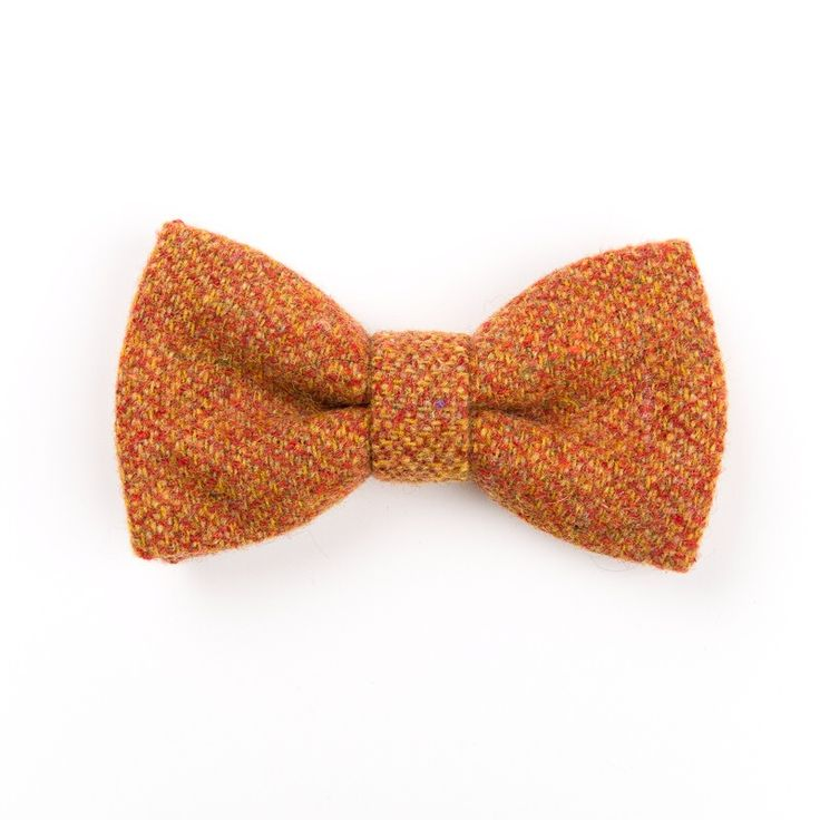 "Check out our ""Hunter Plaid"" #Donegal #tweed #bowtie. Designed and #handmade in #Ireland. FREE Worldwide Shipping!"