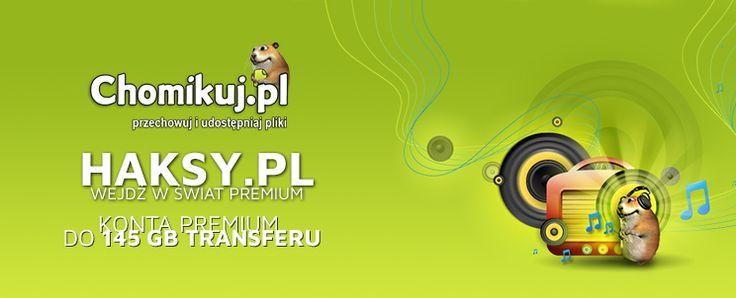 Chomikuj.pl konto premium z transferem danych do aż 145 GB. Sprawdź 2 pozostałe konta chomikuj z tranferem 120 GB oraz 70 GB. Chomikuj.pl