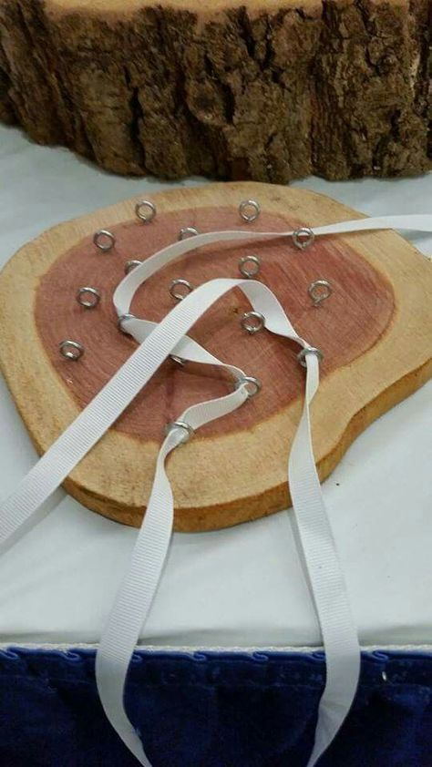 Lacing card. Fine motor skills and occupational therapy. http://www.sextonswoodworking.com