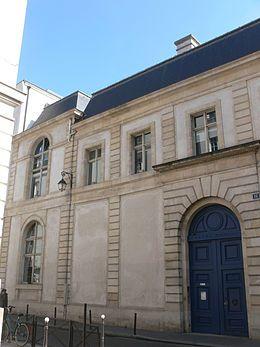 Hôtel Tubeuf ou hôtel Colbert de Torcy (1640) 16 rue Vivienne Paris 75002. Architecte : Pierre le Muet.