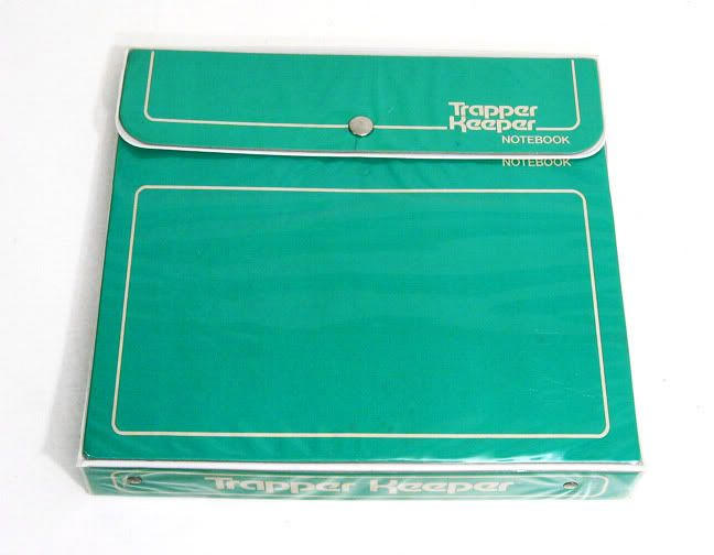 Trapper Keeper {used in both elementary & middle school} // 90's Childhood Memory