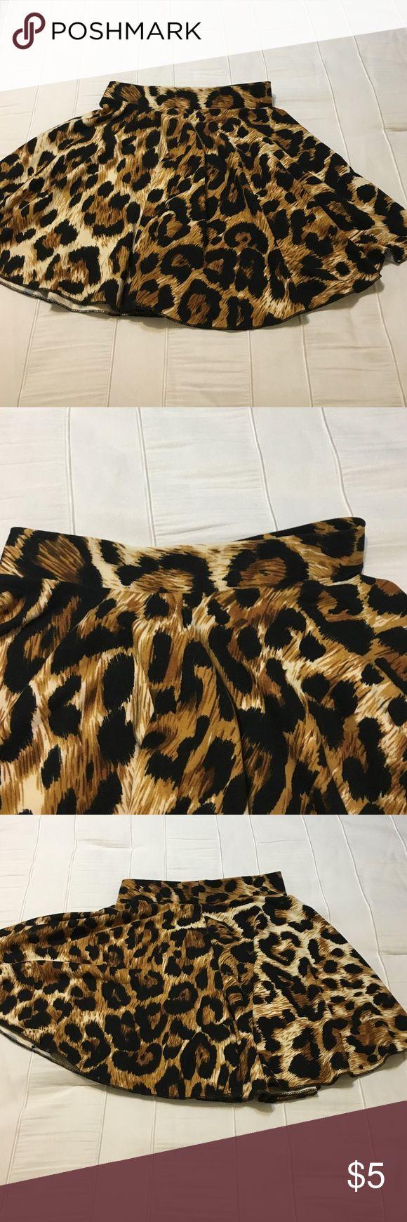 Little girl Always leopard skirt Size l/XL in toddlers, worn twice always Bottoms Skirts