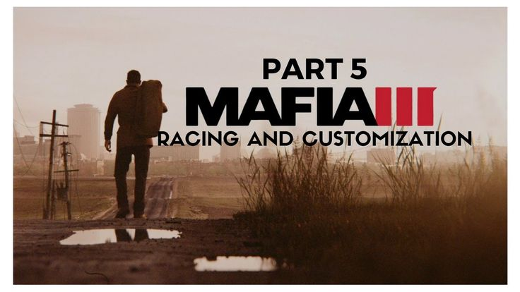 MAFIA 3 PS4 a game by 2K sports about ex army veteran Lincoln Clay and how he takes his revenge and brings down the italian mob in the fictional city of New Bordeaux::Showcasing RACING & CUSTOMIZATION