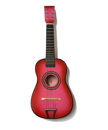Look what I found on #zulily! Pink Kids Acoustic Guitar #zulilyfinds