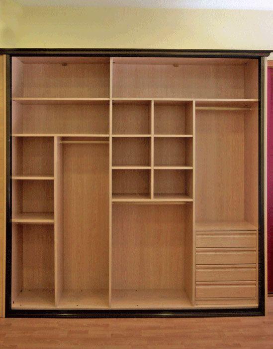 Las 25 mejores ideas sobre armarios empotrados en pinterest puertas de armario empotrado y - Ideas de armarios empotrados ...