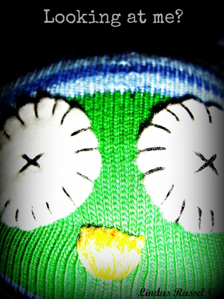 Sock owl, uggla av socka