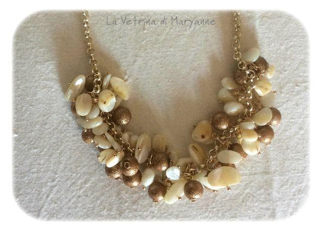 Il blog di Maryanne: Creatività ritrovata: collane e bracciale estivi.