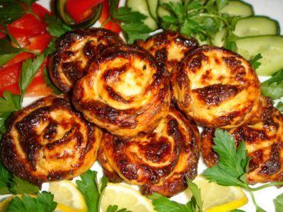 Розы из курочки : Вторые блюда