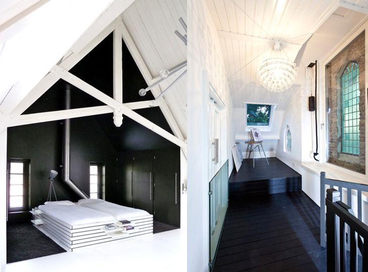 LKSVDD Architects Church Renovated Into A Loft Home