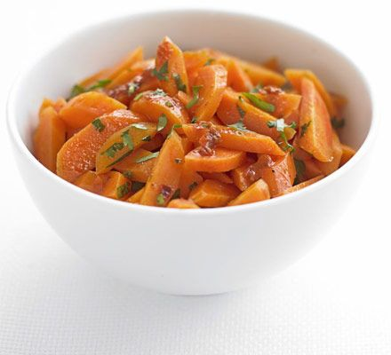 Create a carrot sensation with this simple idea for a dressing and experiment with your favourite veg