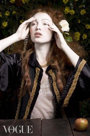 Rossetti 5 by Donna Stevens -- Recreating Dante Gabriel Rossetti paintings in the modern day portrait medium.