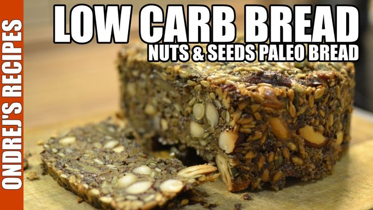 Low Carb Bread Recipe | Amazing Paleo Bread From Nuts & Seeds  I was absolutely amazed by this low car bread! I am on low carb/high fat diet for few years and I didn't had bread for very long time. At first I thought bread would last for at least a week but I just ate it all in 2 days. There are only very few substitutes for bread in low carb diets and I must say this seed bread is one of the best bread alternatives I have found.  Recipe is very simple bread is made only from nuts seeds and…