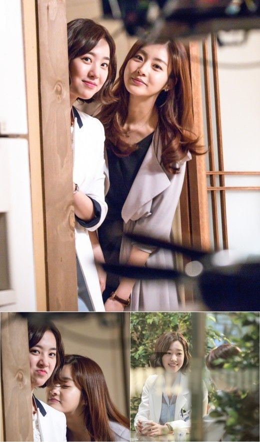 """Jin Se Yeon and Kang Sora Share Cute Photos of Their Friendship While on Set of """"Doctor Stranger"""""""