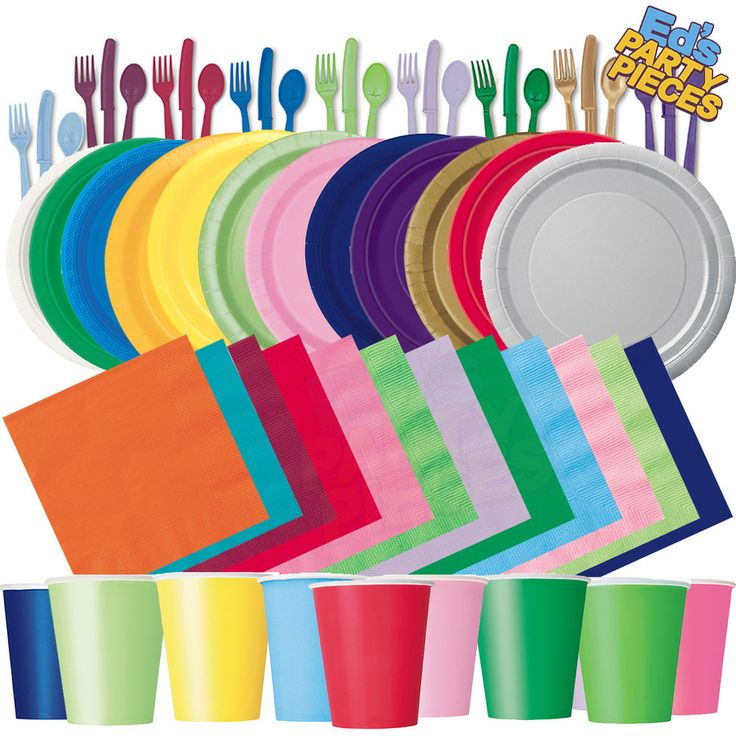 Plain Solid Colours PARTY TABLEWARE  Birthday/Events/Catering/Wedding/Occasion in Home, Furniture & DIY, Celebrations & Occasions, Party Supplies | eBay!