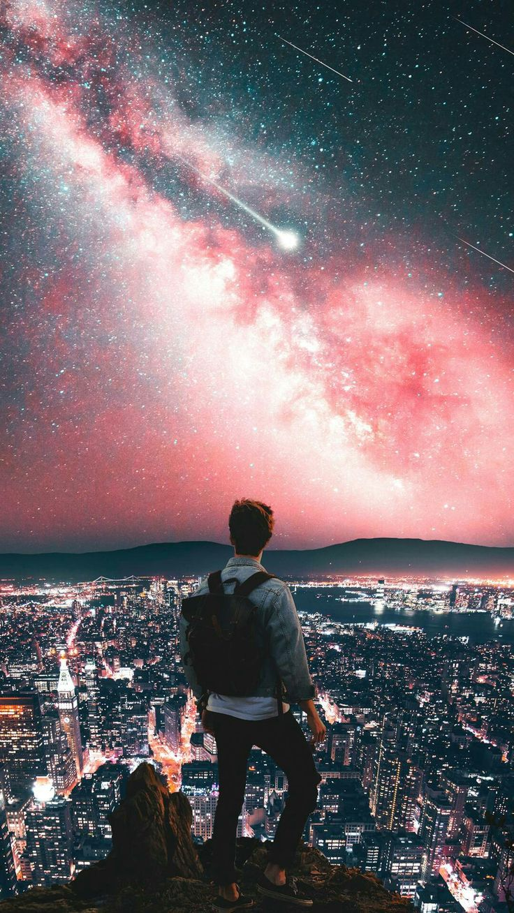 DOPE !!!! #wallpaper #dope #view #stars #sky #new #trend #lights