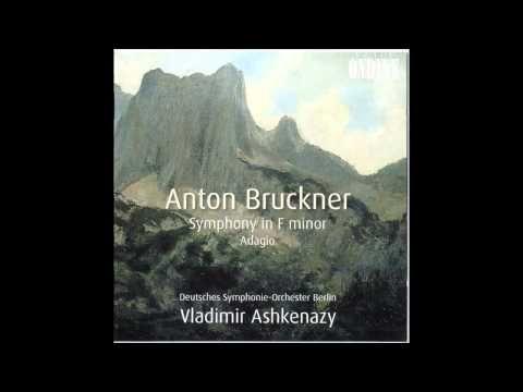Anton Bruckner - Adagio from Quintet, orchestral transcription, Ashkenazy