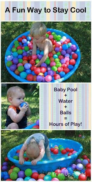 On splash day we could do a pool full of balls instead of water