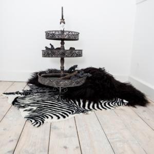 Imitatie zebrahuid 80x85cm - 8719097014846 - Avantius