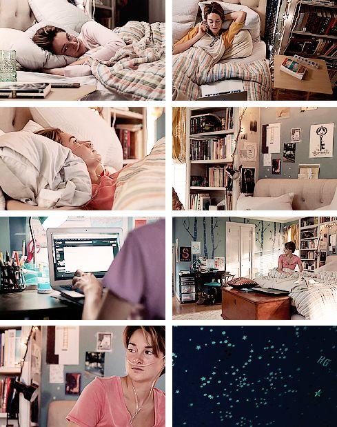 THE FAULT IN OUR STARS DETAILS 1/?? ; hazel's bedroom