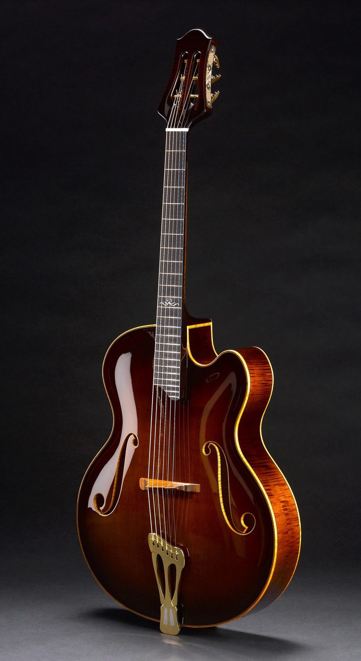 Scharpach Archtop - front