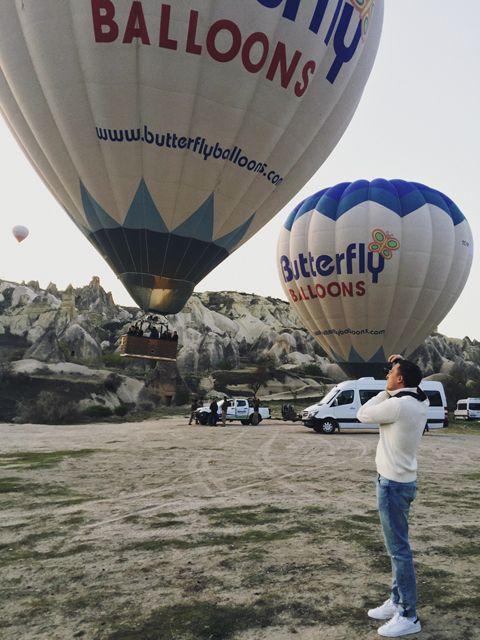Другая планета Каппадокия - Helena Kovalenko Сколько стоит полет на воздушном шаре? #hotairballoon  #balloons #cappadocia #turkey #outfit #travel #rooftop #sultancavesuite #каппадокия #турция #отель #полетына воздушныхшарах
