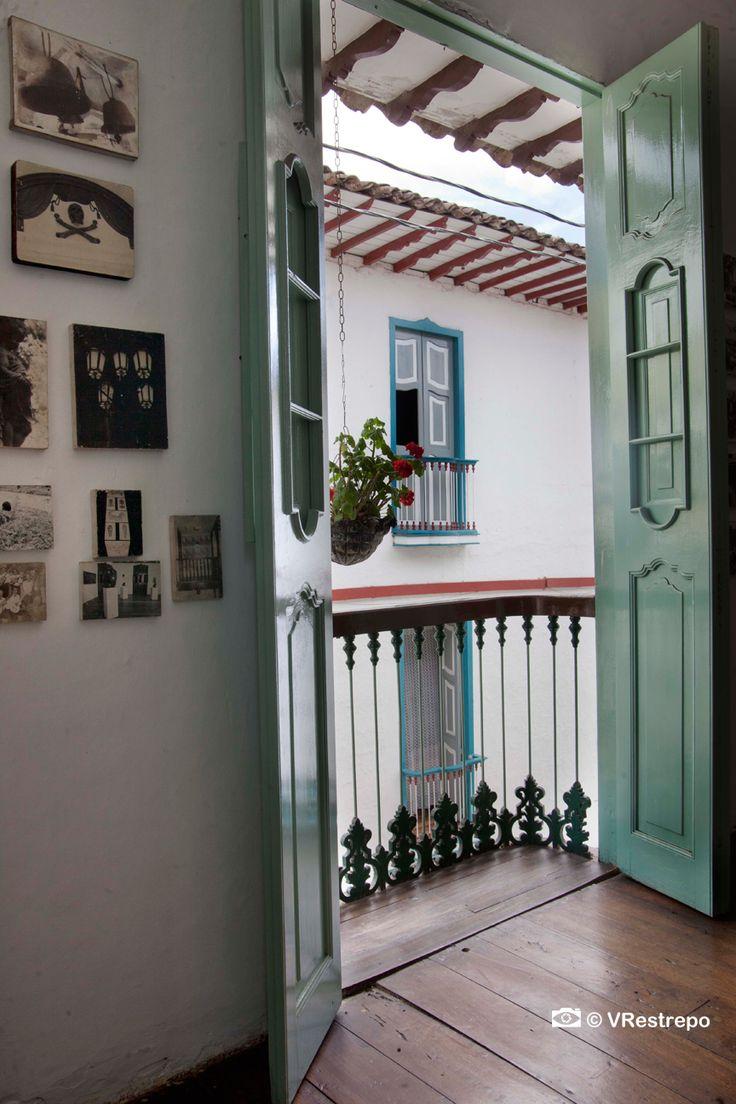 The house of culture Rodrigo Jimenez Mejia in Salamina (Caldas) #Colombia