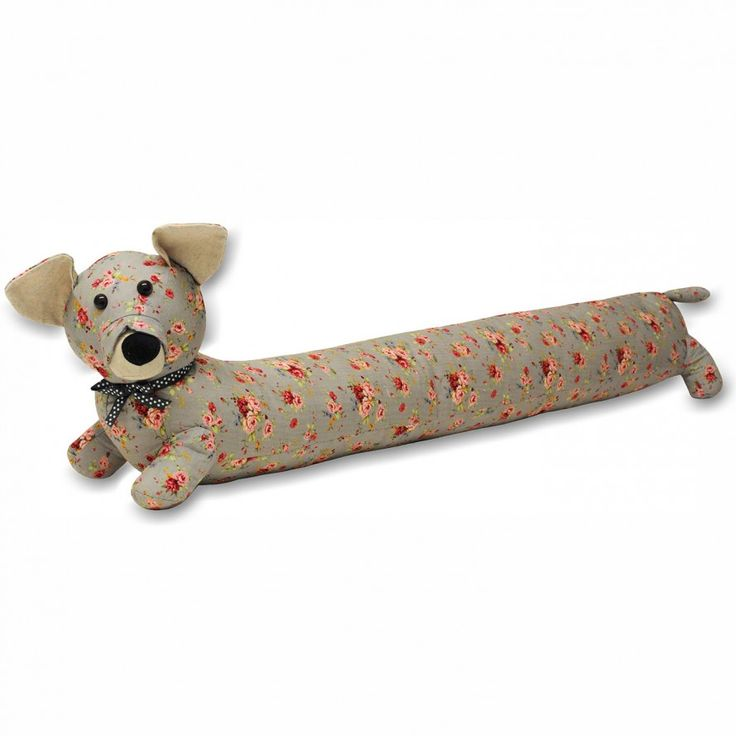 Banish chilly drafts for good and add character and a splash of colour to your home with the wonderful dog draught excluder.