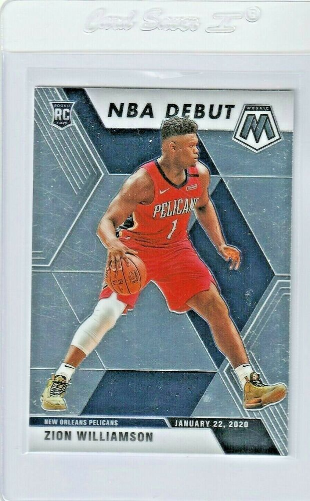 2019 Zion Williamson Panini Nba Debut Mosiac Rookie Card Pelicans 269 Neworleansblackpelicans In 2020 Pelican Zion New Orleans Pelicans