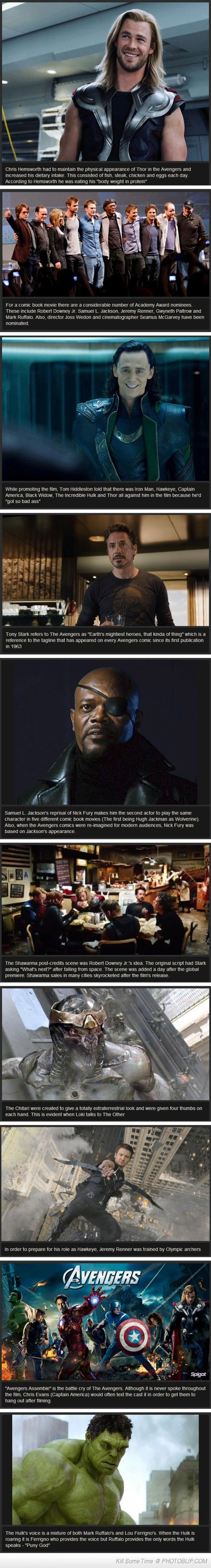 Avengers Facts