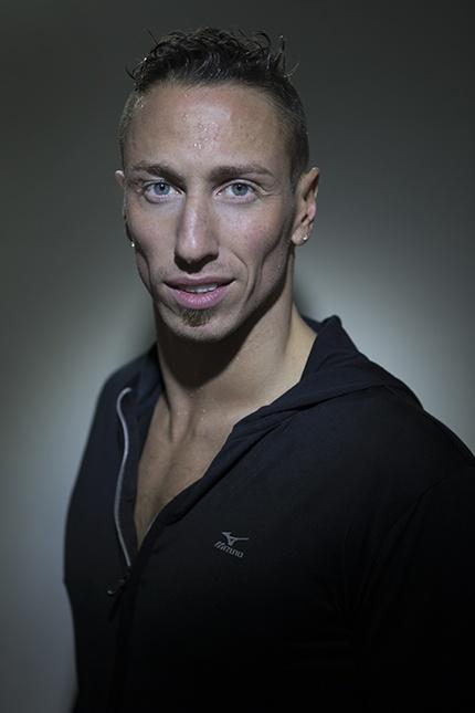 Retour en forme pour Frédérick Bousquet, qui décroche le titre sur 50m papillon et en relais 4x50 nage libre avec le CN Marseille. (Photo: Thierry Bonnet/Ville d'Angers)