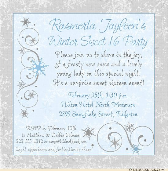 71 best Winter Party Invitations \ Inspiration images on Pinterest - gala invitation wording