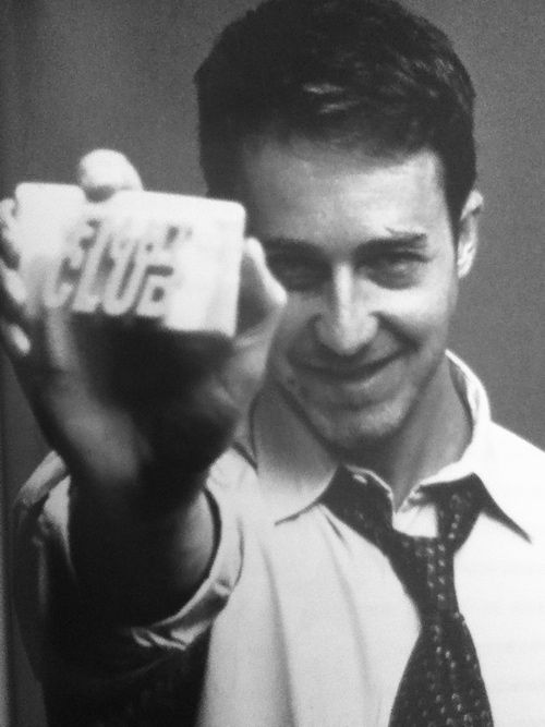"Edward Norton in ""Fight Club."""