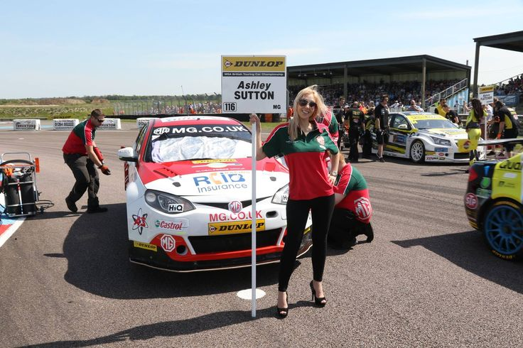Our lovely Grid Girls Emily and Caroline were at the Thruxton - British Touring Cars working with Team Triple 8, photo by Marc Waller