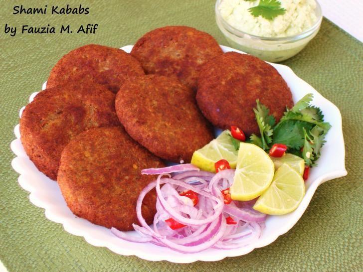 Shami Kababs   Fauzia's Kitchen Fun